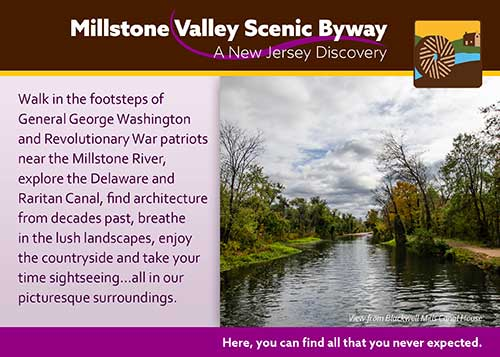 Millstone Valley postcard